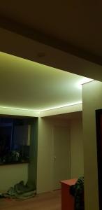 plafond tendu translucide Clipso